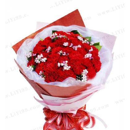 29枝康乃馨花束一束