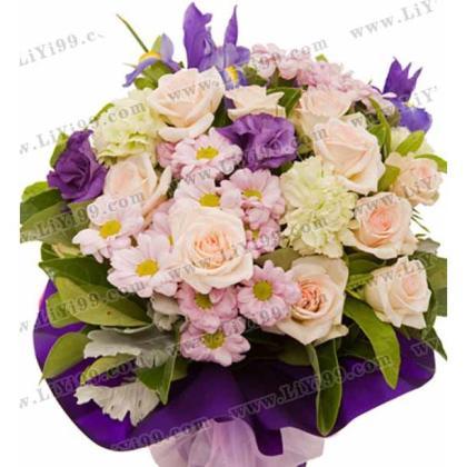 玫瑰鲜花花束一束