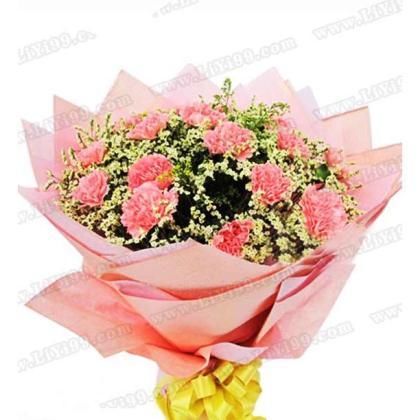 22枝鲜花花束一束