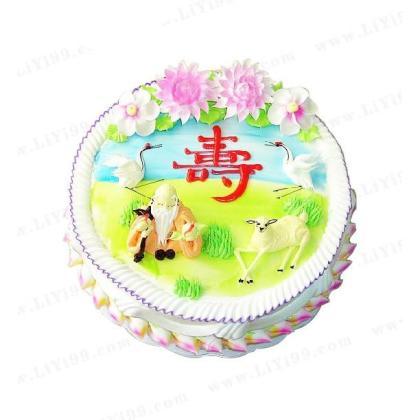 送长辈的生日蛋糕