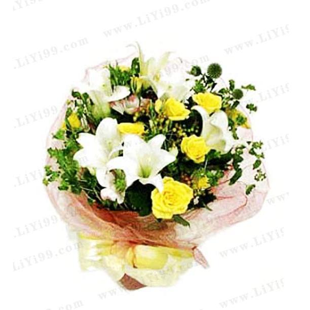 哀思鲜花包装花束一束