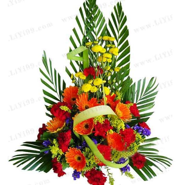 开业庆典鲜花一束