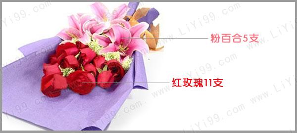 精美扇形花束包装