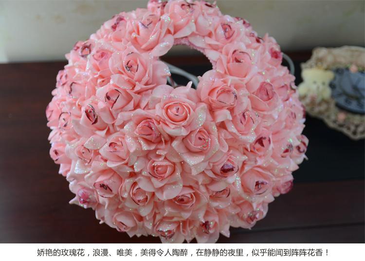 浪漫玫瑰花台灯一个